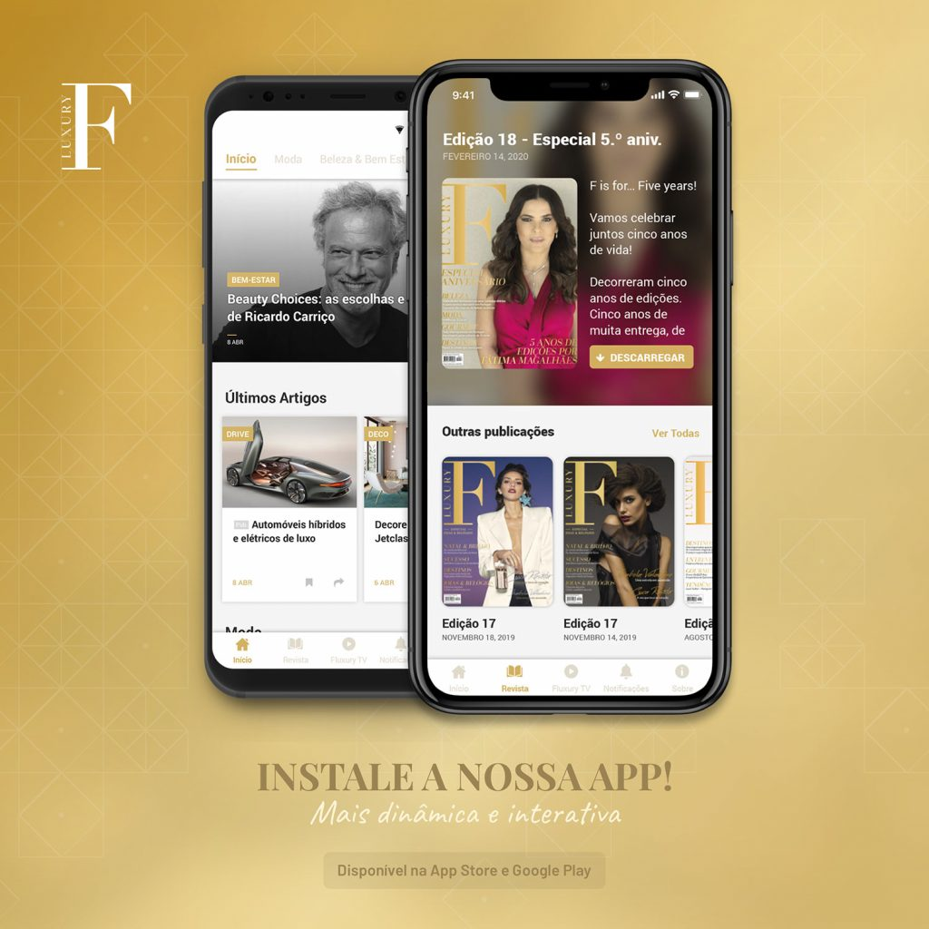 Nova App F Luxury Magazine